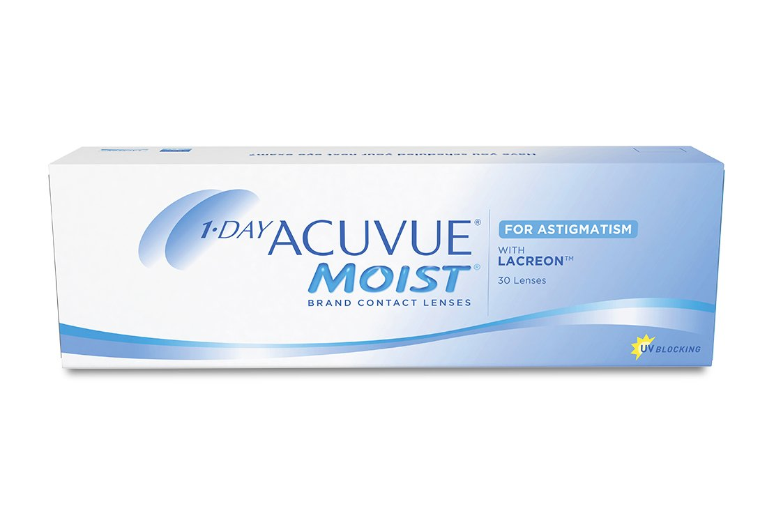 Контактные линзы 1-Day Acuvue Moist For Astigmatism (30) - 1